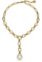 Thumbnail for your product : Ben-Amun Pearly Chain-Link Y-Necklace