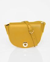 Le Château Saffiano Leather-Like Saddle Bag
