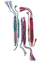 Alloy Jeweled Friendship Bracelets