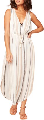 L-Space Kenzie Stripe Cover-Up Dress