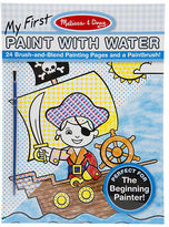 Melissa & Doug NEW My First Paint with Water Pad Blue