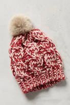 Anthropologie Pommed Conway Beanie