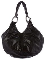 Miu Miu Textured Leather Shoulder Bag