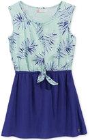 Roxy Button-Front Dress, Big Girls (7-16)