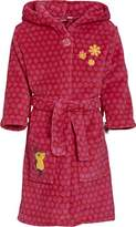 Playshoes Girl's The Mouse Fleece Bathrobe,9-10 Years (Manufacturer Size:134/140)