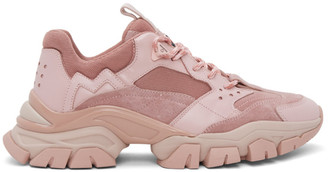 MONCLER GENIUS Pink Leave No Trace Sneakers