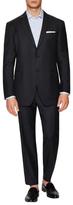 John Varvatos Hampton Wool Checkered Suit