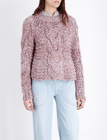Ulla Johnson Francesca cable-knit jumper