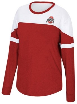 Top of the World Women's Ohio State Buckeyes Downfield Long Sleeve T-Shirt