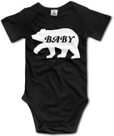 Baby Bear Kids Boys Cotton Comfortable Cute Short Sleeve Romper Jumpsuit Bodysuit Outfits Clothes