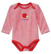 Gymboree Striped Apple Bodysuit