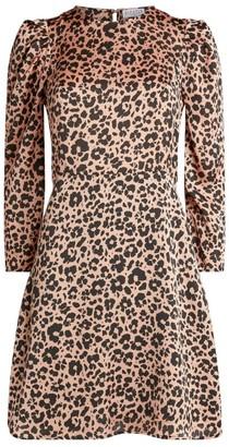 Claudie Pierlot Leopard Print Dress