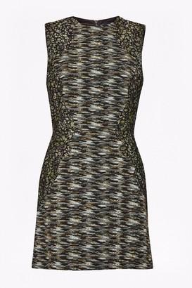 French Connection City Camo Sleeveless Mini Dress