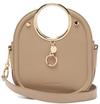 See by Chloe Mara Leather Bag - Womens - Grey