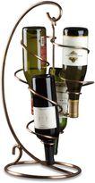 Oenophilia Copper Table Tendril 4-Bottle Wine Rack