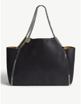 Stella McCartney Black Falabella Faux Leather Shoulder Bag