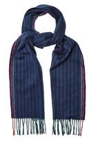 Paul Smith Striped wool-blend scarf