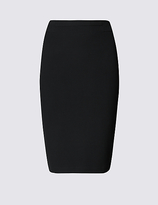M&S Collection PETITE Back Split Pencil Skirt