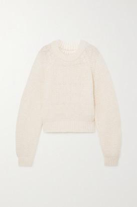 LE 17 SEPTEMBRE Open-knit Sweater