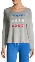 Sundry Merci Beacoup Sweatshirt
