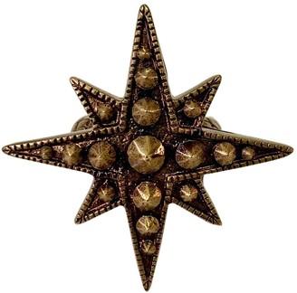 Roberto Cavalli Gold Metal Rings