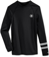 Hurley Men's Rash Guard Logo Shirt
