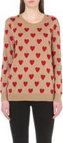 Burberry Heart-intarsia merino wool jumper