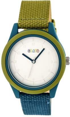 Crayo Watches Olive/Teal - Olive & Teal Pleasant Watch