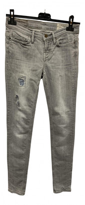 AllSaints Grey Cotton - elasthane Jeans