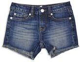 7 For All Mankind Girls' Raw Edge Shorts - Big Kid