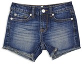 7 For All Mankind Girls' Raw Edge Shorts - Sizes 4-6X