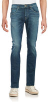 Hudson Faded Straight-Leg Jeans