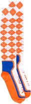 Maison Margiela argyle soks - women - Polyester - M