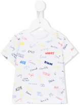 Stella McCartney Chuckle name print T-shirt - kids - Cotton - 3 mth