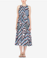 Catherine Malandrino Alfie Printed Midi Dress