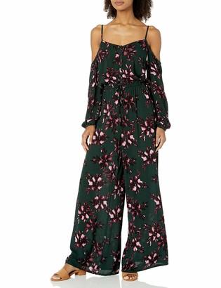 BB Dakota Women's Adaline Romantic Floral Jumpsuit