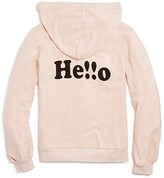 Wildfox Couture Girls' Hello Hoodie - Big Kid