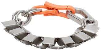 Heron Preston Silver Cubic Bracelet