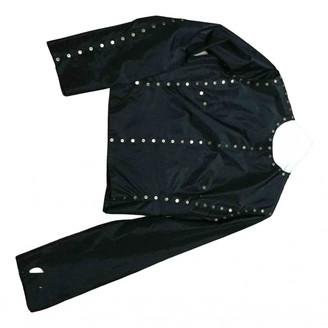Celine Black Silk Jackets