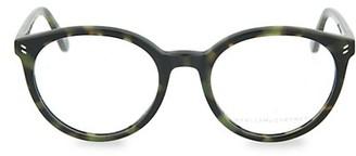 Stella McCartney 52MM Round Blue Light Core Reading Glasses