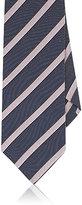Barneys New York Men's Striped Silk Necktie