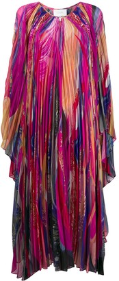 Camilla Straight Fit Abstract Print Dress