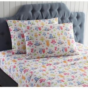 Morgan Home Mhf Home Kids Wise Owls Full Sheet Set Bedding