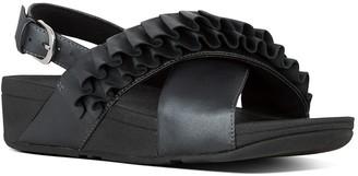 FitFlop Lulu Petal Ruffle Slingback Sandal