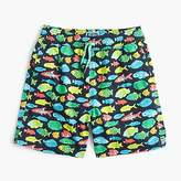 J.Crew Boys' swim trunk in tropical fish