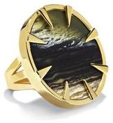Vince Camuto Faux Horn Round Ring