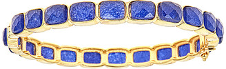 Forever Creations Usa Inc. Forever Creations 18K Over Silver 30.00 Ct. Tw. Sapphire Bangle