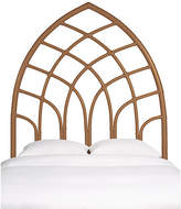 David Francis Furniture Cathedral Headboard - Camel Brown