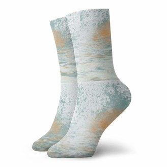 Dearl East Fork Malibu Sunset Colorful Gift Socks Casual Winter Warm Hiking Cozy Socks Crew Socks Unisex for Children Teens Adults