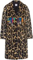 Stella Jean Faux Cheetah Medallion Coat